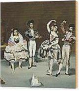 Ballet Espagnol Wood Print