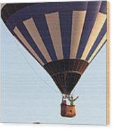 Balloon-2shotwave-7393 Wood Print