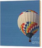 Balloon-6954 Wood Print