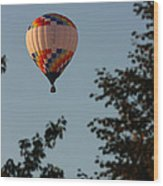 Balloon-7097 Wood Print