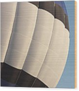 Balloon-bwb-7378 Wood Print