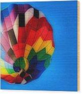 Balloon Colors Wood Print