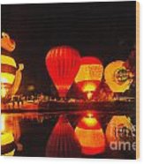 Balloon Fest 2 Wood Print