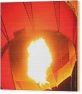 Balloon-glow-7917 Wood Print