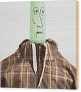 Balloon Heads - Spencer Wood Print