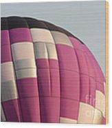 Balloon-purple-7457 Wood Print