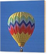 Balloon Ride Wood Print