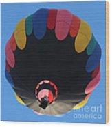 Balloon Square 1 Wood Print