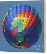 Balloon Square 2 Wood Print