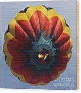 Balloon Square 3 Wood Print
