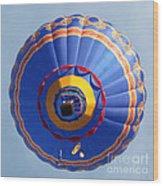 Balloon Square 4 Wood Print