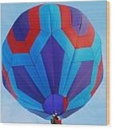 Ballooning Wood Print