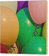 Balloons Horizontal Wood Print