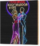 Ballroom Dancing Sign Wood Print