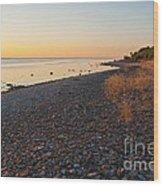 Baltic Sea Coast Wood Print
