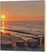 Baltic Sun Wood Print