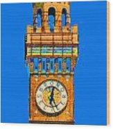 Baltimore Clock Tower Wood Print
