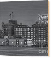 Baltimore Domino Sugars Plant II Wood Print