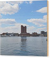 Baltimore Harbor Wood Print