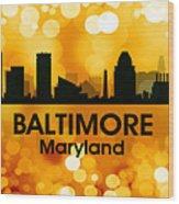 Baltimore Md 3 Wood Print