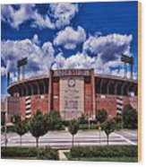 Baltimore Memorial Stadium 1960s Wood Print