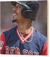 Baltimore Orioles v Boston Red Sox Wood Print