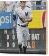 Baltimore Orioles vs New York Yankees Wood Print