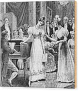 Balzac: A Woman Of Thirty Wood Print by Granger