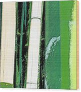 Bamboo Abstraction Wood Print