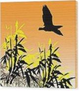 Bamboo Bird Wood Print
