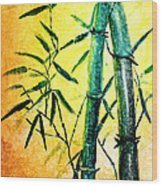 Bamboo Magic Wood Print