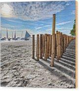 Bamboo Stripe Wood Print