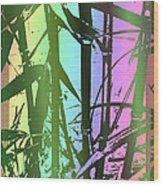 Bamboo Study 8 Wood Print