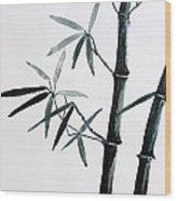 Bamboo Tree Wood Print