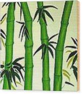 Bamboos Wood Print