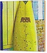 Banana Board Wood Print
