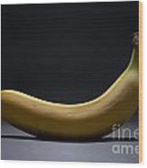Banana In Limbo Wood Print by Dan Holm