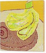 Bananas From Paphos 3 Wood Print by Anita Dale Livaditis