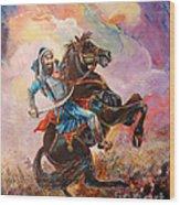 Banda Singh Bahadur Wood Print