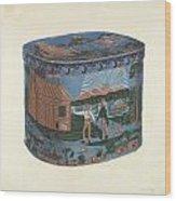 Bandbox Design Wood Print