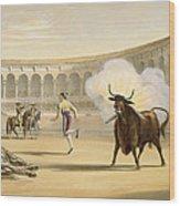 Banderillas De Fuego, 1865 Wood Print