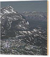 Banff Alberta Canada Wood Print