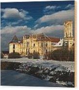 Banffy Castle In Transylvania Wood Print