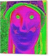 Banged Up Beatnick Wood Print
