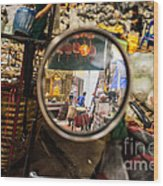 Bangkok Market Scene I Wood Print