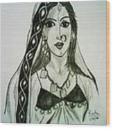 Banjaran - Indian Village Woman  Wood Print