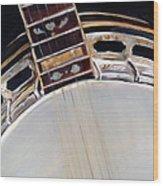 Banjo Wood Print