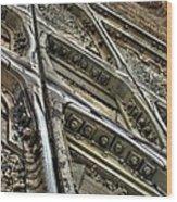 Bannon Diamond 05 Hdr Wood Print