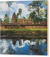 Banteay Srei - Angkor Wat - Cambodia Wood Print
