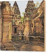 Banteay Srei, Cambodia Wood Print